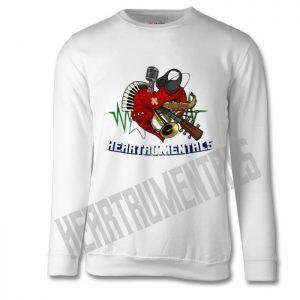 Heartrumentals Heart and Logo Sweater